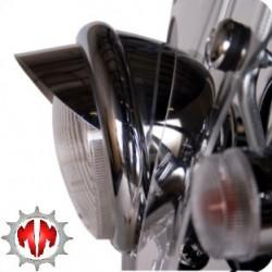 casquette de phare chrome allo 125 marc moto technique. Black Bedroom Furniture Sets. Home Design Ideas