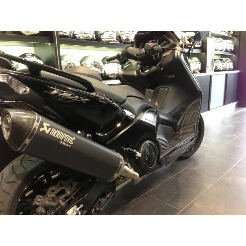 pot d 39 echappement exhaust akrapovic black noir nero t max tmax 500 530 2008 et plus marc moto. Black Bedroom Furniture Sets. Home Design Ideas